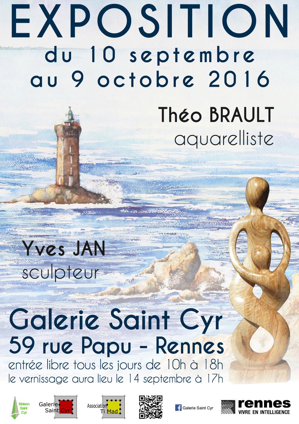 Théo Brault - Aquareliste
